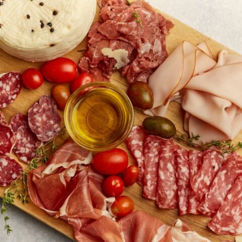 What are cured meats