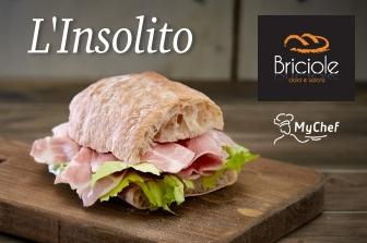 """Salumi Pasini presents """"Insolito"""": the new sandwich in collaboration with MyChef"""