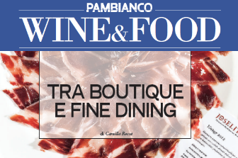 Article form the magazine Pambianco Wine and Food