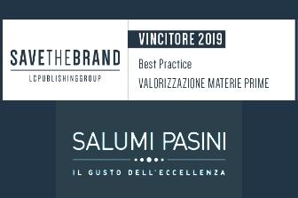 Salumi Pasini awarded with Save the Brand 2019